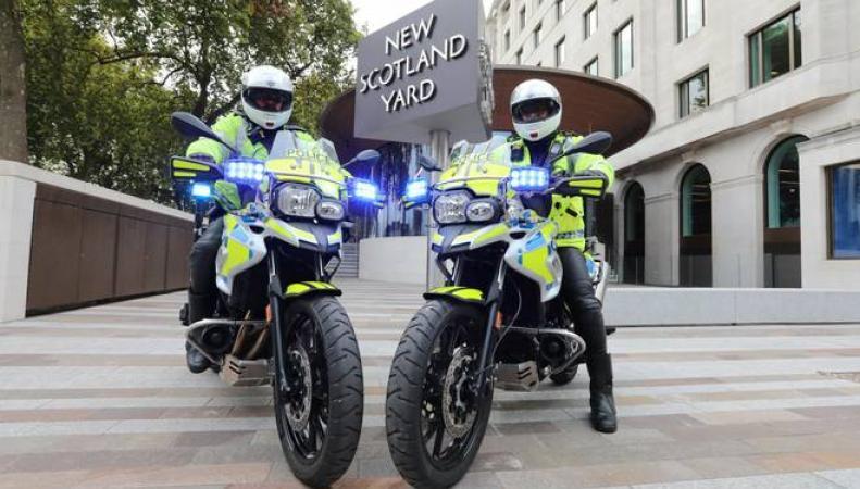 Составлена карта нападений бандитов на мопедах в Лондоне