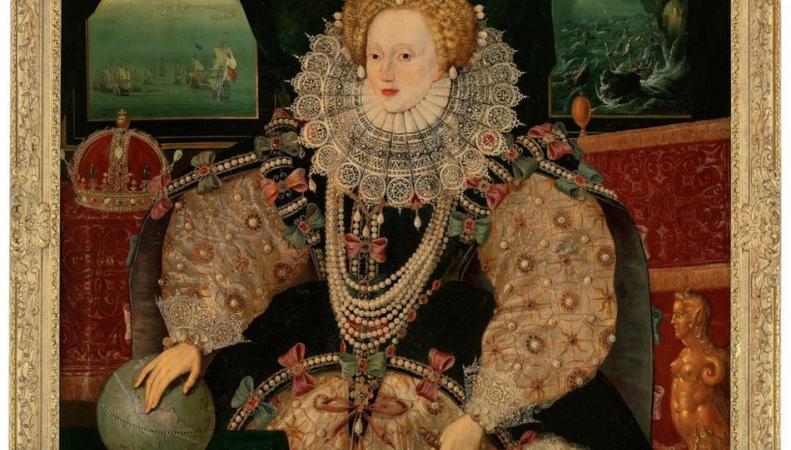 Исторический портрет королевы Елизаветы I стал общественной собственностью Великобритании