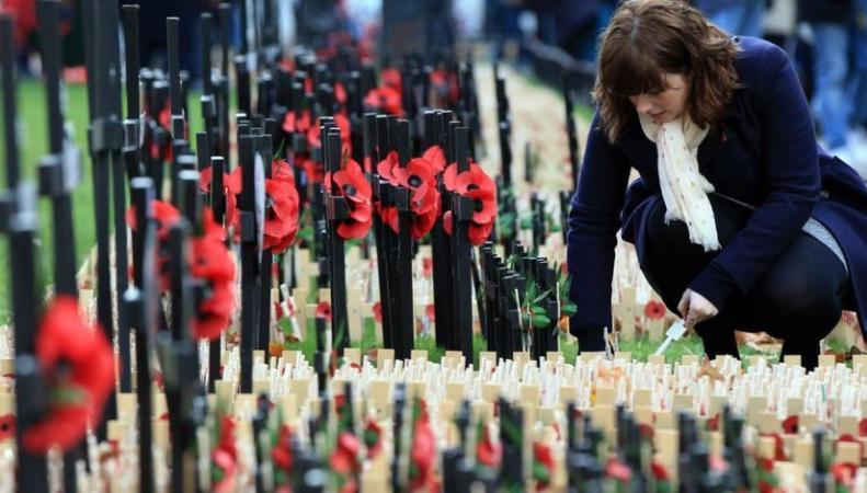 Великобритания почтит память павших в День перемирия фото:bbc.com