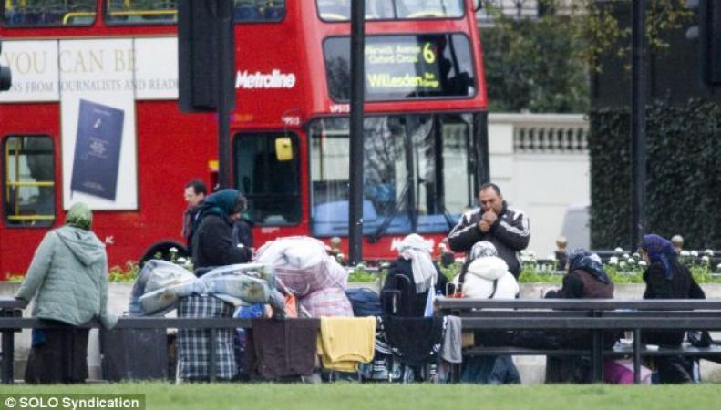 Беженцы в Британии