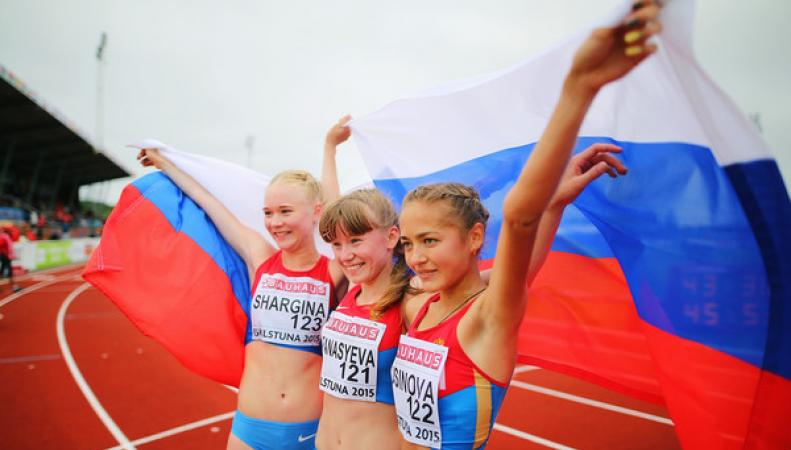 Легкоатлетки россии