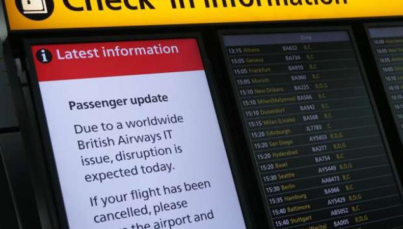 British Airways официально назвала причину масштабного сбоя в обслуживании пассажиров фото:financialpost