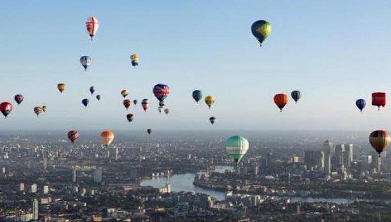 Воздушная Регата в Лондоне