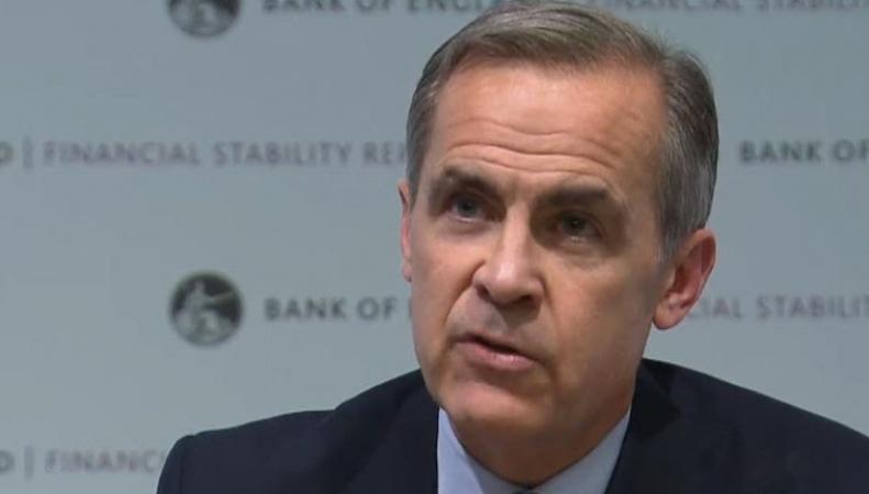 Банк Англии оценил риски сползания экономики в рецессию