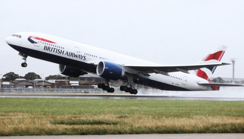 Самолет British Airways совершил «полет в никуда» на десять тысяч километров фото:standard.co.uk