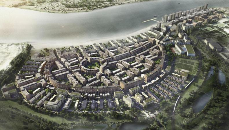 Мэрия Лондона утвердила план строительства «Барселоны на Темзе» фото:standard.co.uk