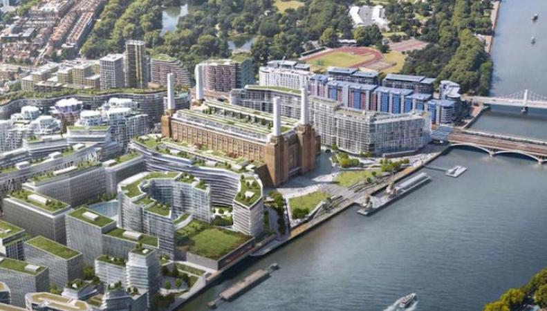 Лондонская штаб-квартира Apple переедет на известную электростанцию Баттерси