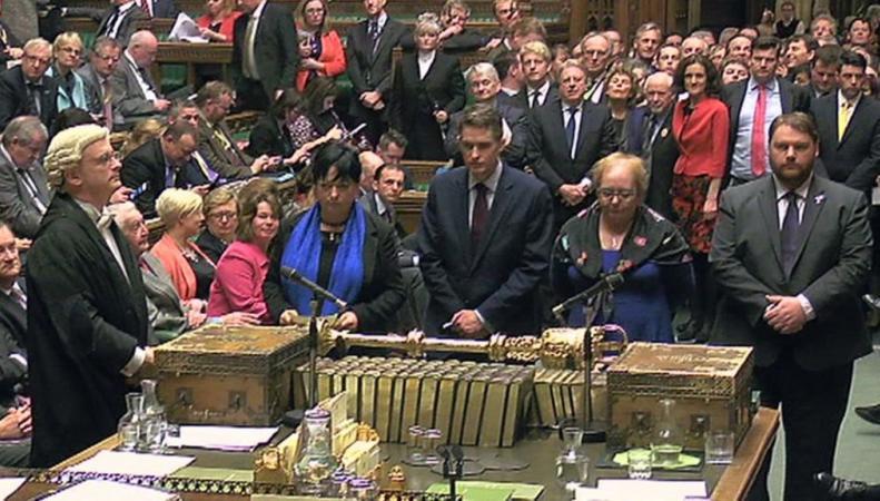 Парламент проголосовал за Билль о Брекзите фото:bbc