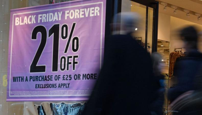 Черная пятница в Великобритании не оправдала надежд на оживление рынка
