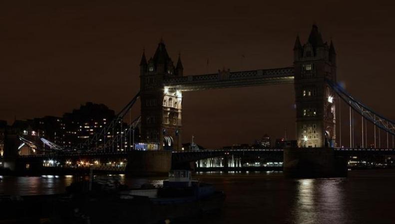 Лондон погрузился во тьму в Час Земли