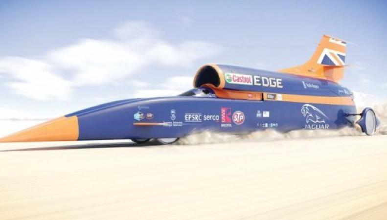 В Корнуолле пройдут первые открытые испытания сверхзвукового автомобиля