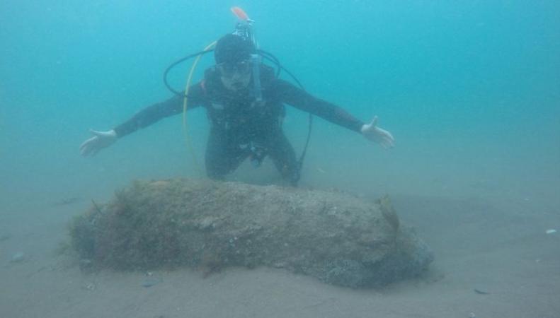 В Тинмуте обнаружена бомба  времен Второй Мировой войны