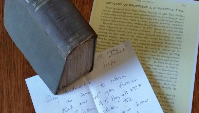 Жительница Херефорда возвратила книгу вбиблиотеку сопозданием насто двадцать лет