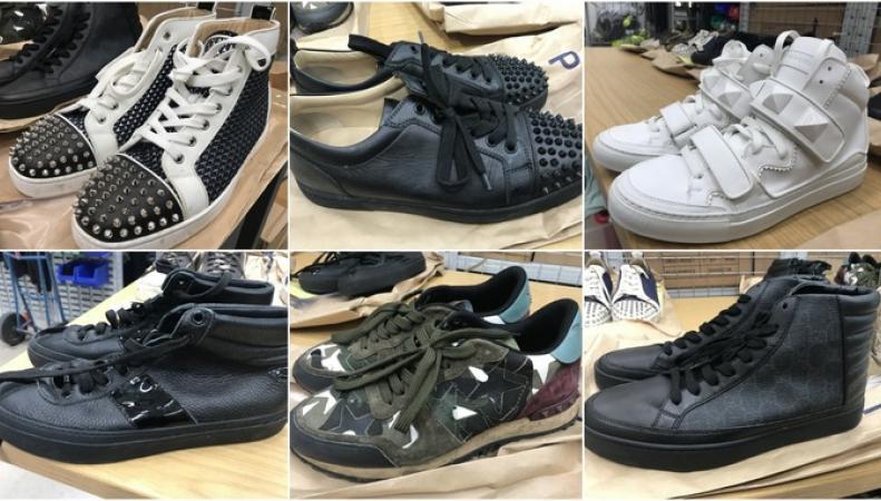 Полиция Глостера выставила на аукцион коллекцию обуви помешанного на моде гангстера