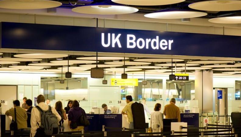 британский  пограничный контроль