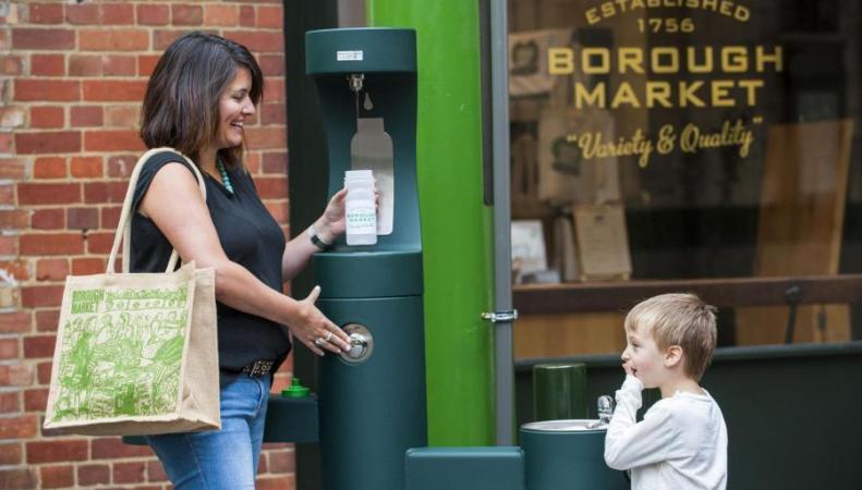 Рынок Borough Market откажется от пластиковых бутылок фото:standard.co.uk