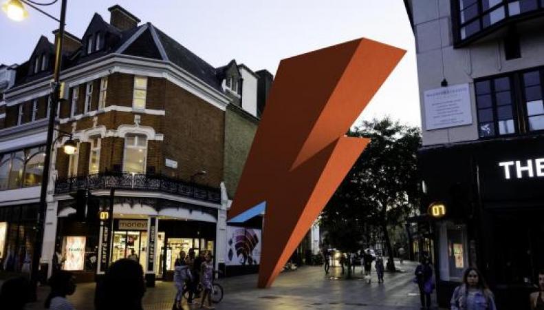 Памятник Дэвиду Боуи появится в Лондоне фото:standard.co.uk