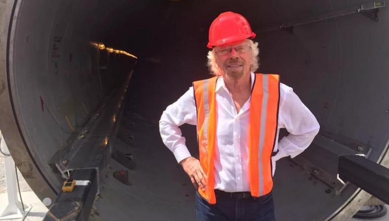 Ричард Брэнсон построит в Англии сверхскоростную железную дорогу фото:independent