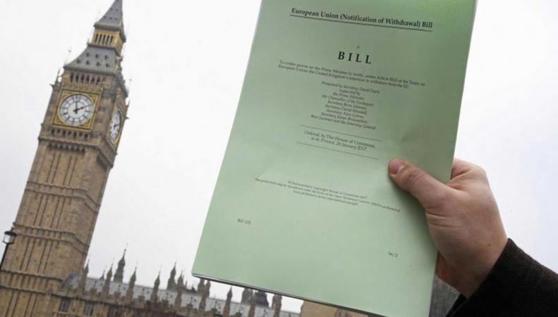 В Палате общин начались дебаты по Биллю о Брекзите фото:independent