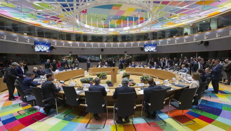 Лидеры EU27 согласовали тактику переговоров по Брекзиту фото:standard.co.uk