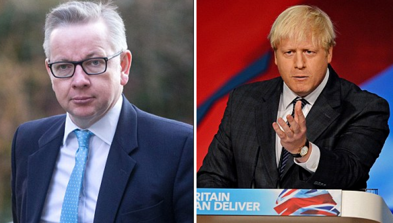 Джонсон и Гоув опубликовали открытое письмо с претензиями к Дэвиду Кэмерону фото:dailymail.co.uk