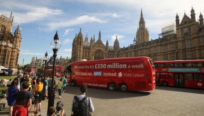 Великобритания не платила Евросоюзу декларируемых сумм членских взносов фото:standard.co.uk