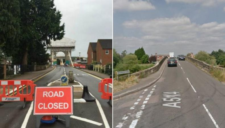 Мосты в Англии опасны для проезда тяжелых грузовиков фото:bbc