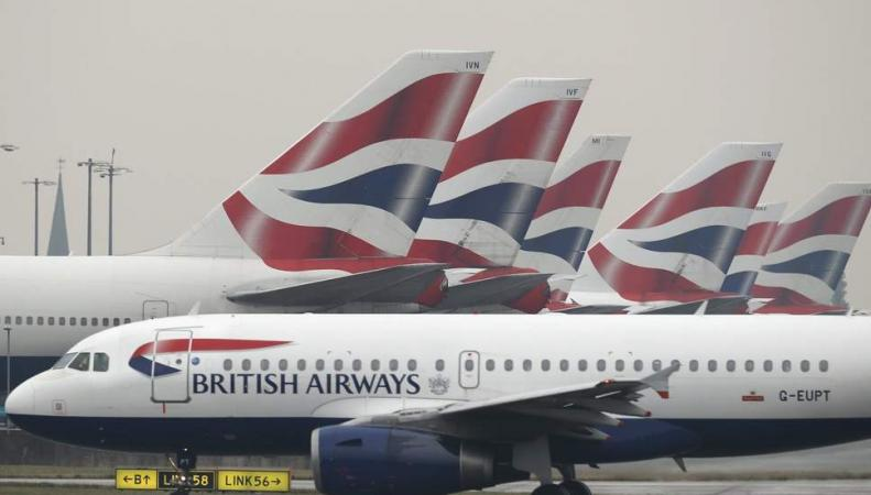 В Хитроу отменены рейсы British Airways