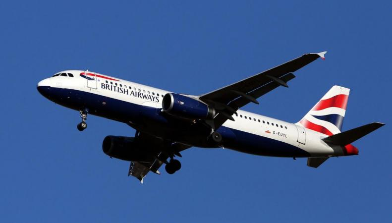 Самолет British Airways задержан в Нью-Джерси из-за угрозы теракта фото:standard.co.uk