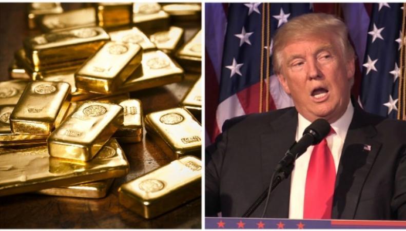 Бирмингемские трейдеры продали рекордные запасы золота на новости о победе Трампа фото:itv.com