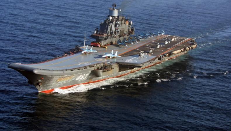 """""""Адмирал Кузнецов""""  идёт в Сирию на борьбу с террористами"""