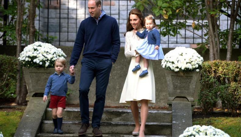 Принц Джордж и принцесса Шарлотта стали гостями на детском празднике в Канаде фото:dailymail.co.uk