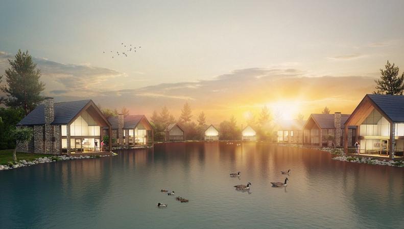В Корнуолле откроется «шестизвездочный» туристический курорт фото:dailymail.co.uk