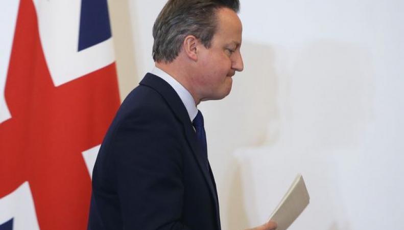 Дэвиду Кэмерону грозит отставка вне зависимости от исхода референдума фото: mirror.co.uk