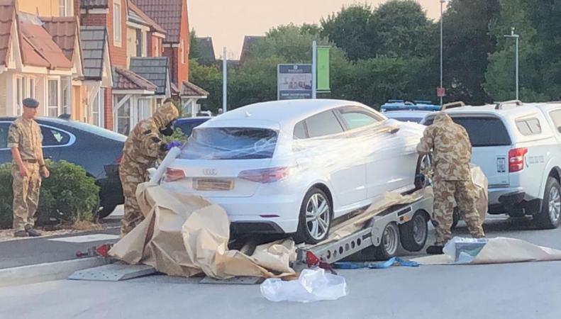 Следователи арестовали автомобиль в связи с делом об отравлении «Новичком» в Эймсбери
