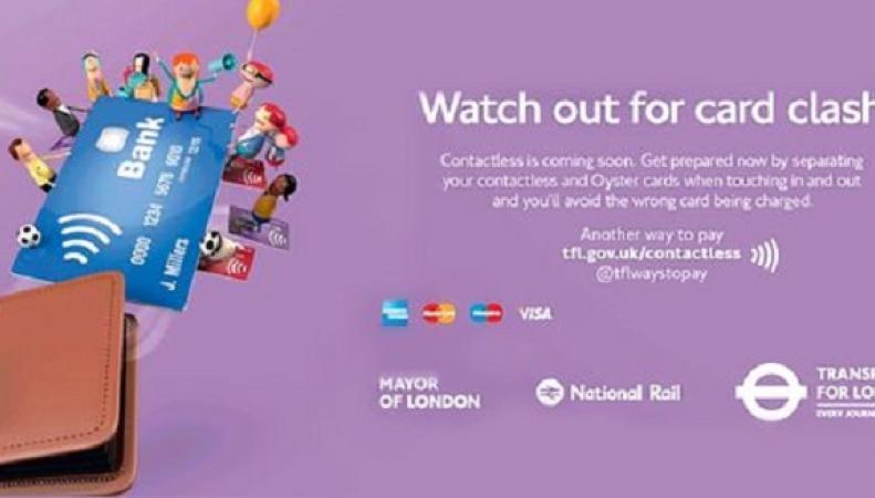 Лондонская транспортная сеть отметила двухлетие технологии бесконтактной оплаты