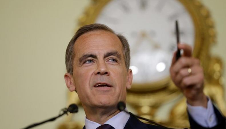 Выступление главы Банка Англии опустило курс фунта стерлингов фото:theguardian.com