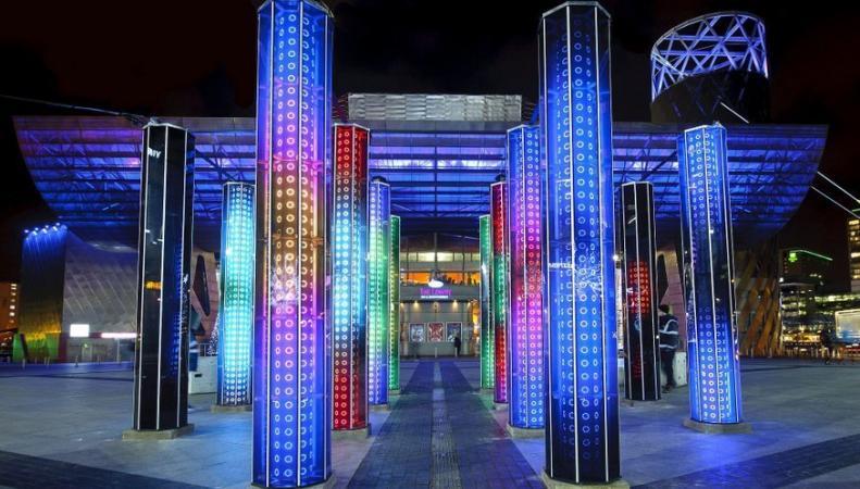 Фестиваль иллюминации состоится в Кэнери Уорф в январе фото:londonist.com
