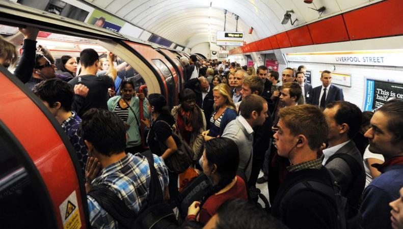 Профсоюз RMT анонсировал забастовку на линии метро Central фото:standard.co.uk