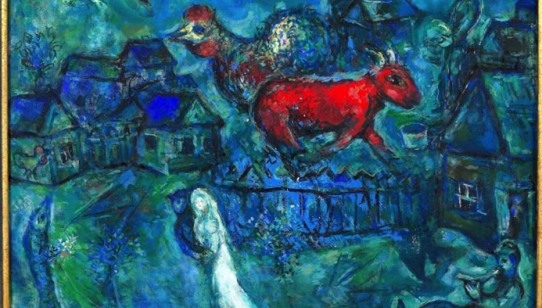 Выставка картин Марка Шагала пройдет летом в Лондоне