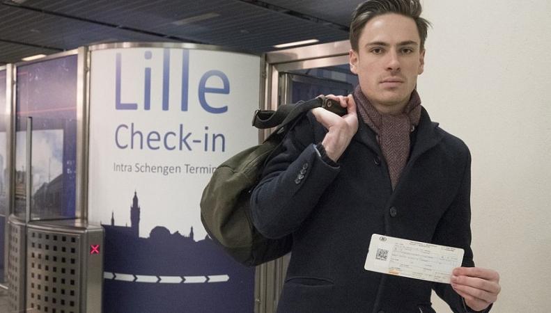 Eurostar стал лазейкой для нелегального проникновения в Великобританию фото:dailymail.co.uk