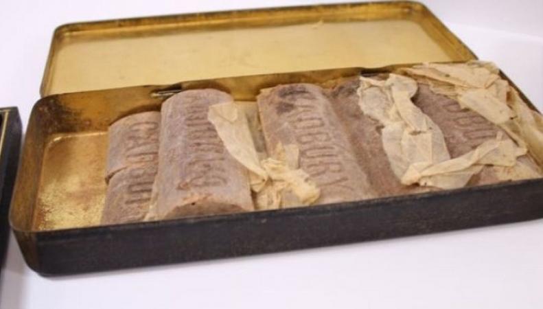 Шоколад возрастом более 100 лет нашли в Великобритании