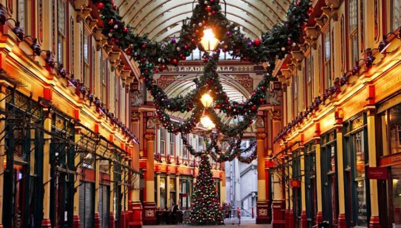 Куда пойти в Лондоне, когда все празднуют Рождество фото:londonist.com
