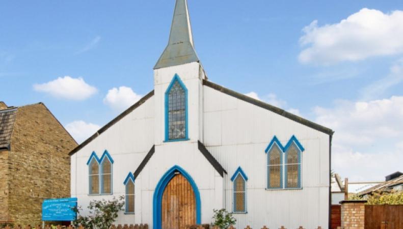Лондонская церковь выставлена на аукционные торги фото:london24.com