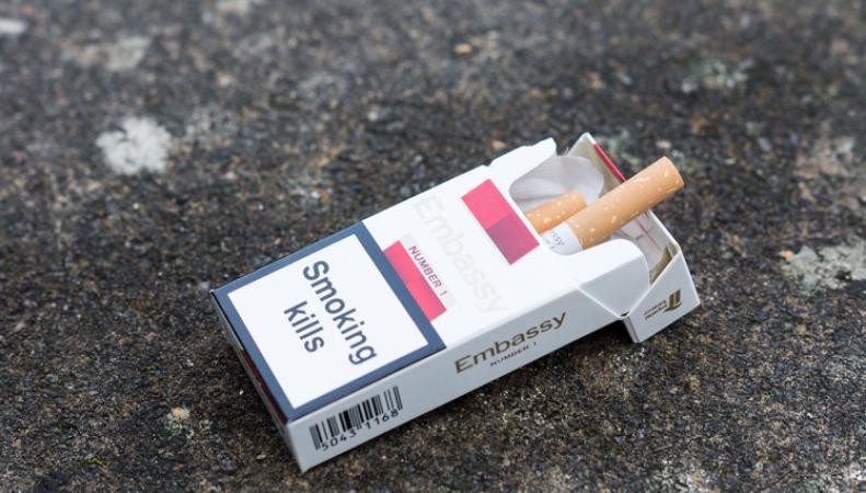 В Великобритании ужесточены правила продажи сигарет фото:metro.co.uk