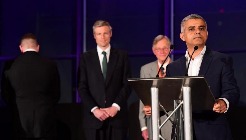 Мэр Лондона получил угрозы от праворадикалов Britain First фото:independent.co.uk