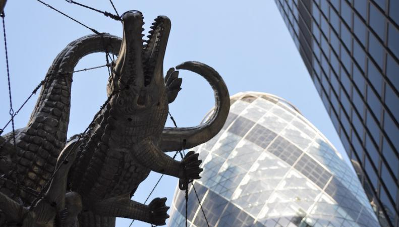 В Лондонском Сити проходит выставка современной скульптуры