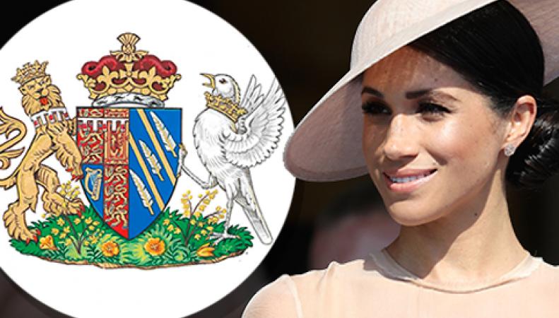 Герцогиня Сассекская Меган получила собственный герб