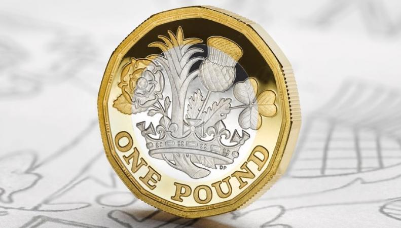 Royal Mint начал продавать двенадцатигранные фунты по цене до 950 фунтов за штуку фото:itv