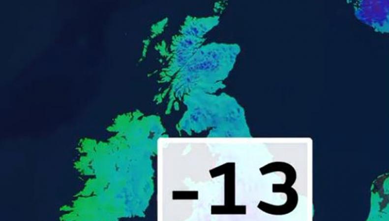 Британцы пережили самую холодную ночь в году